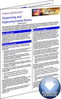 Organizing and Digitizing Family Photos