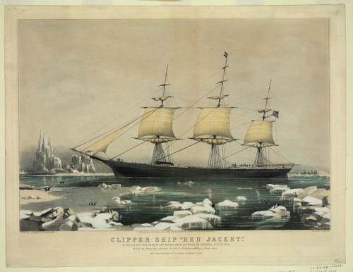 Clipper ship-LOC