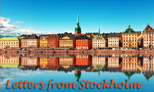 Letters from Stockholm