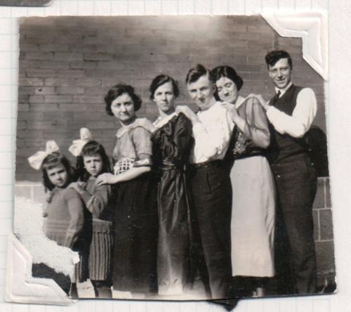 Photo in collection of Lorine McGinnis Schulze taken ca 1920 Guelph Ontario Canada
