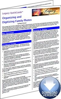 Organizing and Digitizing Family Photos