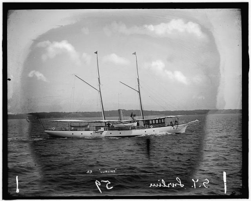 Steam yacht lurline