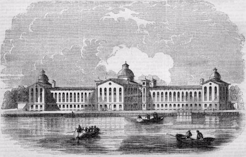 House of Refuge, Randall's Island, New York 1853