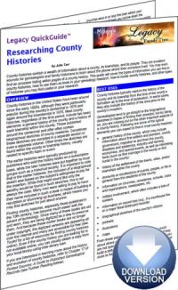 County Histories
