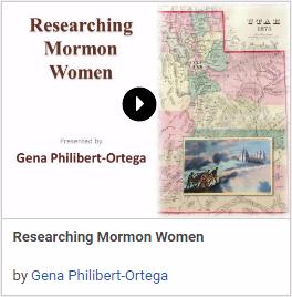 Researching Mormon Women