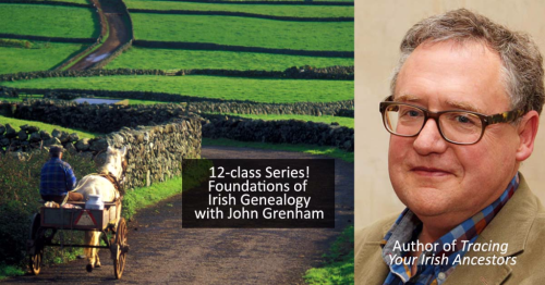 12-class Irish Series by John Grenham