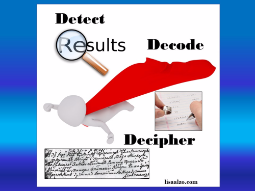 Detect. Decode. Decipher. Eastern European Genealogy