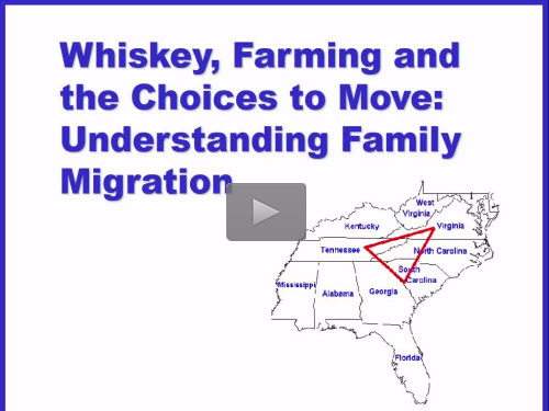 New Bonus Webinar - Understanding Family Migration by J. Mark Lowe