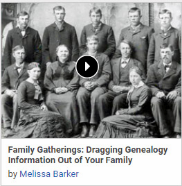 Family Gatherings: Dragging Genealogy Information Out of Your Family