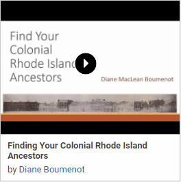 Finding Your Colonial Rhode Island Ancestors