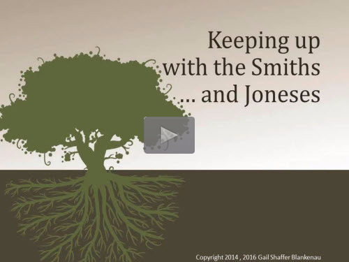 Keeping Up with the Smiths and Joneses