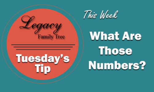 Tuesday's Tip - What Are Those Numbers? (Beginner)