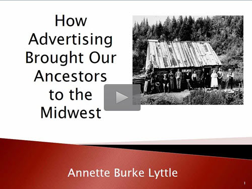 How Advertising Brought Our Ancestors to the Midwest