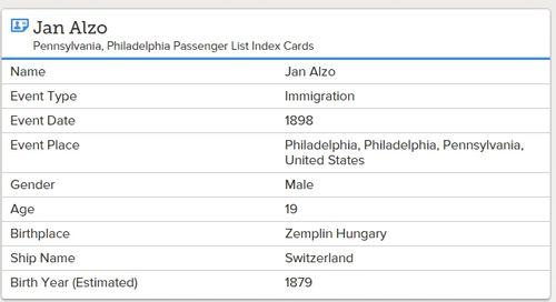 Passlistcard