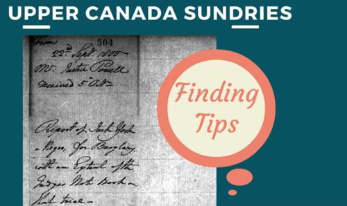 Upper Canada Sundries