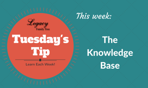 Tuesday's Tip - The Knowledge Base