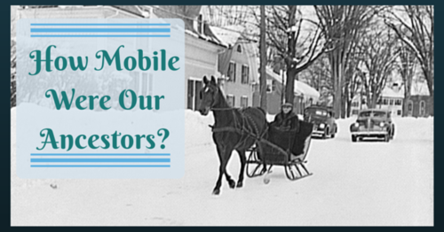 How Mobile Were Our Ancestors Library of Congress image