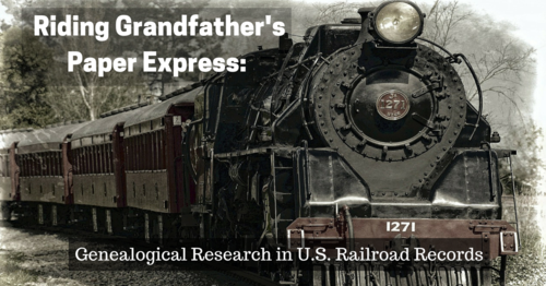 Riding Granfather's Paper Express