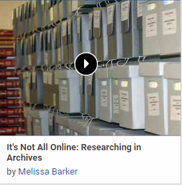It's Not All Online: Researching in Archives