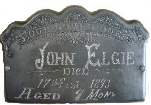 Coffin plate in collection of Brian L. Massey, published with permission