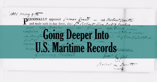 Going Deeper Into U.S. Maritime Records