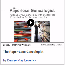 The Paper-Less Genealogist