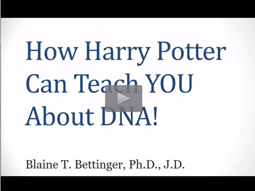 How Harry Potter Can Teach You About DNA - free webinar by Blaine Bettinger