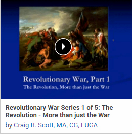 Revolutionary War Series 1 of 5: The Revolution: More than just the War