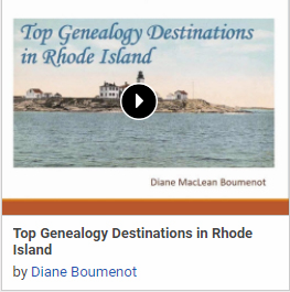 Top Genealogy Destinations in Rhode Island