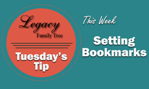Tuesday's Tip - Setting Bookmarks (Beginner)