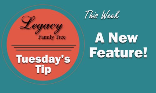 Tuesday's Tip – New feature! (Beginner)