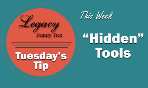 "Tuesday's Tip - ""Hidden"" Tools (Beginner)"