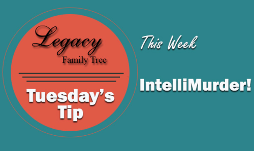 Tuesday's Tip - IntelliMurder! (Intermediate)