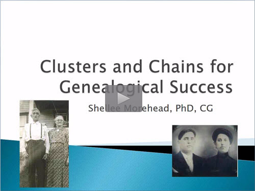 Clusters and Chains for Genealogical Success