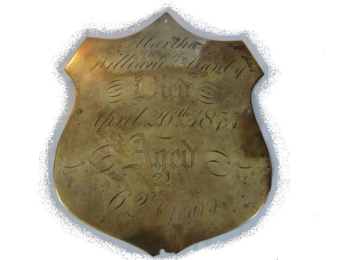 Breast Plate from United Kingdom from B.L. Massey Collection