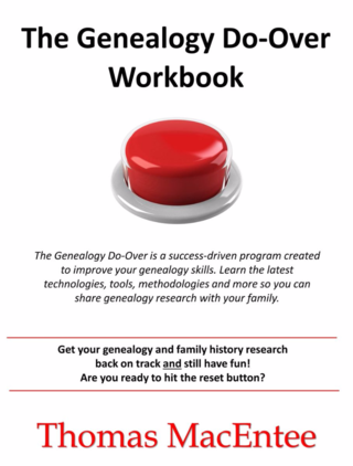 The Genealogy DoOver Workbook