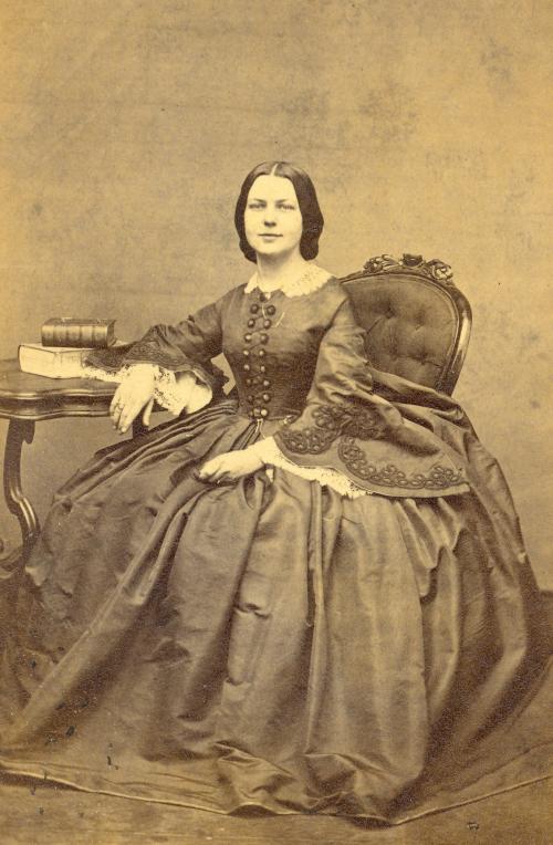 LFT CDV Mrs Joseph Curtis 1862