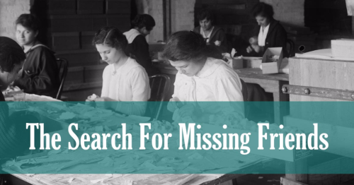 Irish Research - The Search For Missing Friends