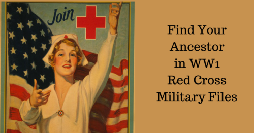 Find Your Ancestor in WW1 Red Cross Military Files