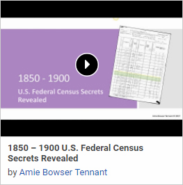 1850-1900 U.S. Federal Census Secrets Revealed