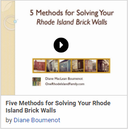 Five Methods for Solving Your Rhode Island Brick Walls