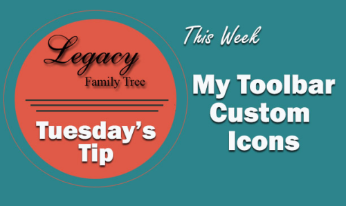 Tuesday's Tip–How to Set Up the Custom Icons on My Toolbar (Intermediate)
