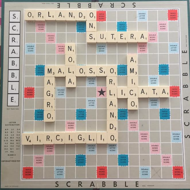 Orlando Scrabble Board by Julie Goucher