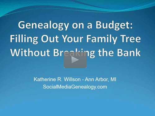 Filling Out Your Family Tree Without Breaking the Bank