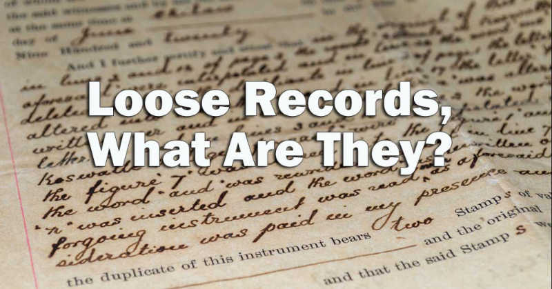 Loose Records, What Are They?