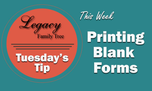 TT - Printing Blank Forms