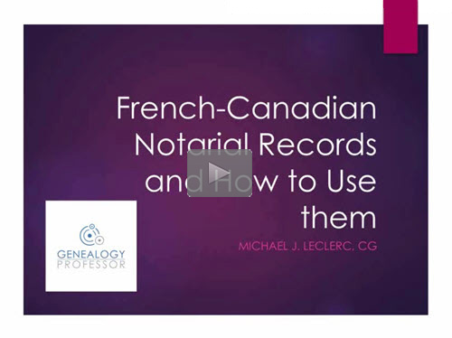 Introduction to Notarial Records
