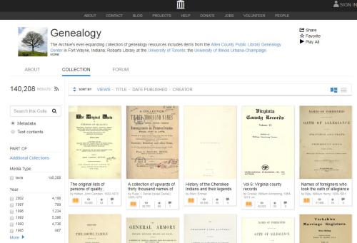 IA Genealogy