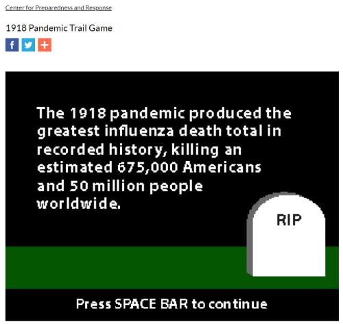 Pandemic stats