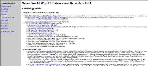 Online WWII
